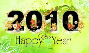 Happy New Year 2010 by satti2008