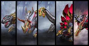Transformers Fall of Cybertron Dinobots 1