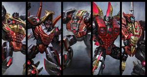 Transformers Fall of Cybertron Dinobots 2