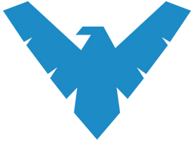 Nightwing Logo by mr-droy
