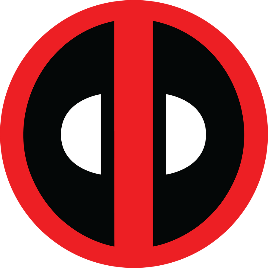 Deadpool Logo 2 Fill by mr-droy