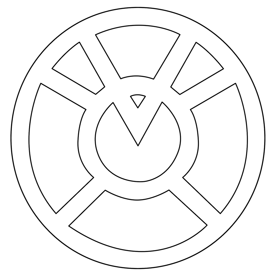 Orange Lantern Corps Symbol outline by mr-droy on DeviantArtOrange Lantern Corps Logo