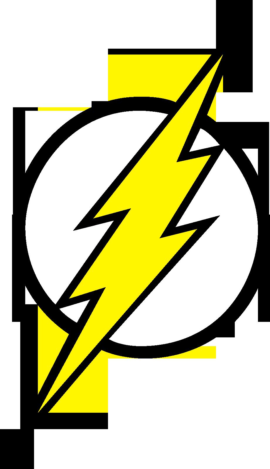 Flash Comics Logo Flash Logo Fill by Mr-droy