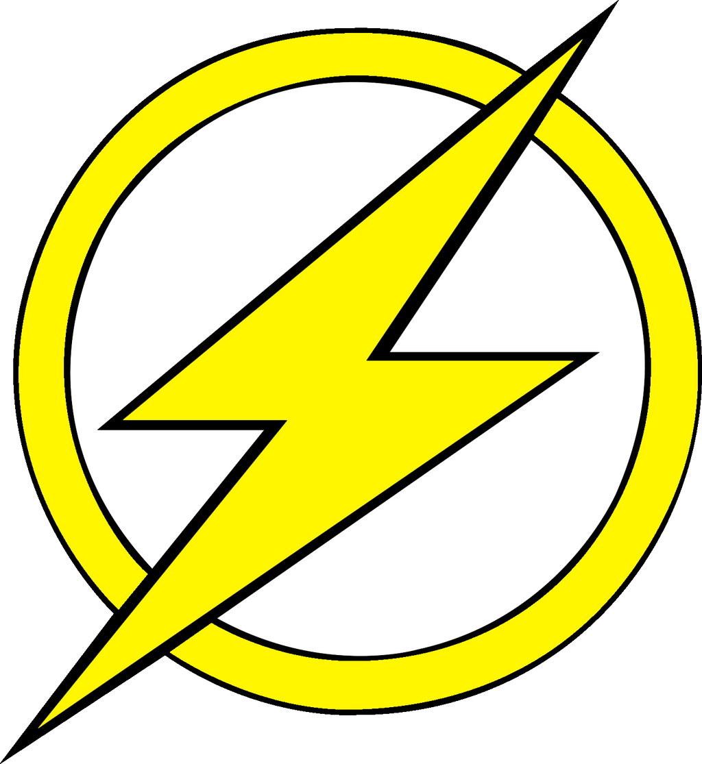 Kid Flash logo Fill by mr-droy on DeviantArt