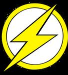 Kid Flash logo Fill