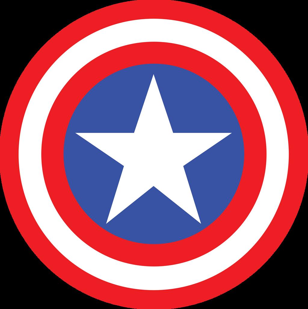 Captain America Symbol Fill by mr-droy on DeviantArt