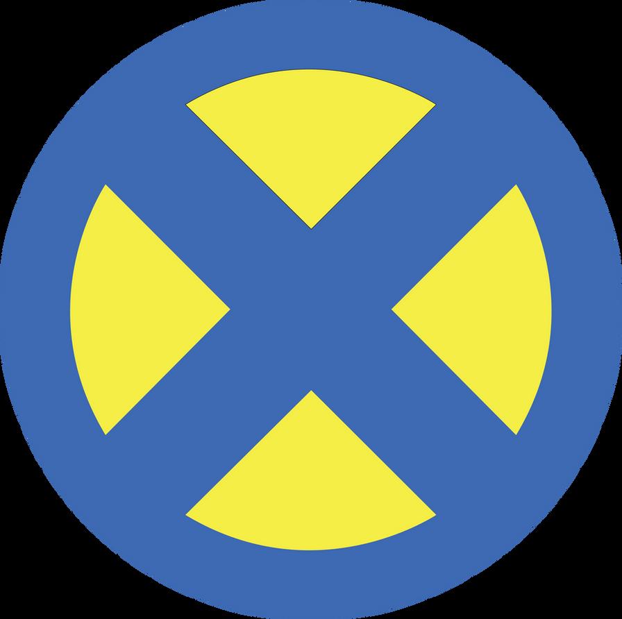 X-MEN-Symbol Füllen, ...