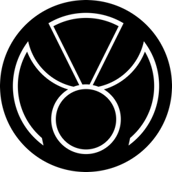 Phantom lantern Corp Symbol Outline by mr-droy
