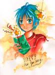 Happy New Year 2009 by kagurafuuko