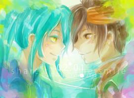 Inazuma. Share the Same Smile by kagurafuuko