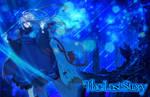 Calista under a blue night by Art-Iristic
