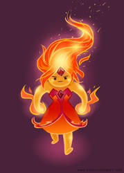 Grouchy Flame Princess! (Adventure Time)