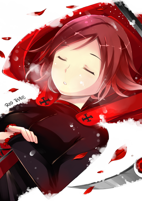 Practice III- RWBY [Red] Ruby by Ryo-Thae