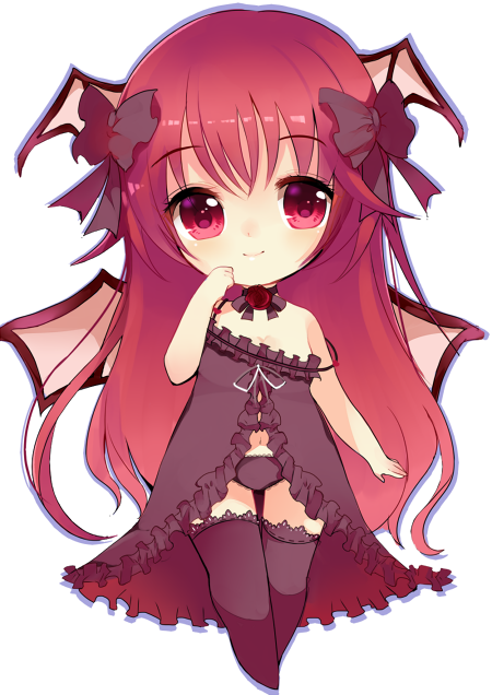 Detailed chibi waitlist available by ry thae on deviantart - Dessin manga kawaii ...