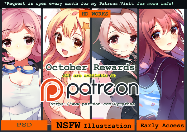 Patreon - October rewards by Ry-thae