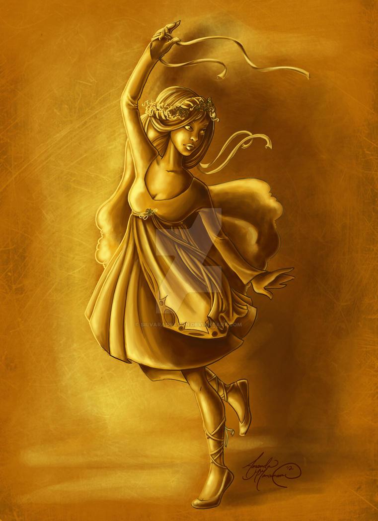 Daughter of King Midas by SilvaraDragon