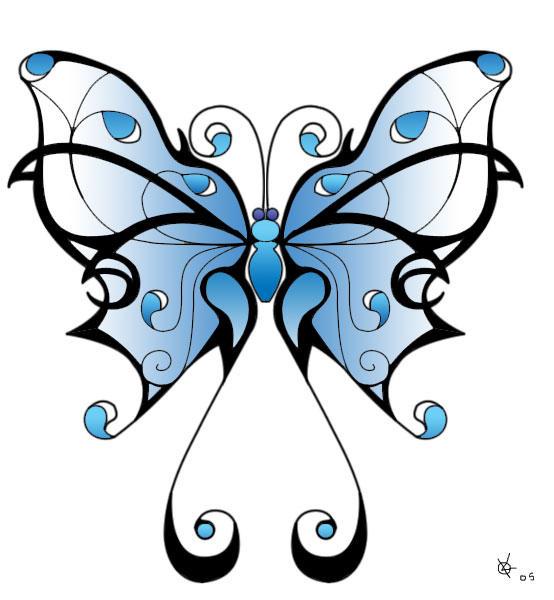 Tribal Scorpion By White Tigress 12158 On Deviantart: Tribal Butterfly By Thaodorin On DeviantArt