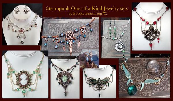 Steampunk Jewelry by BobbieBerendson