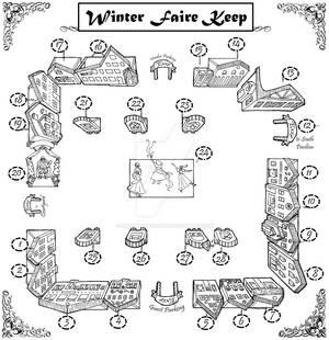 Winter Faire in Utah vendor map