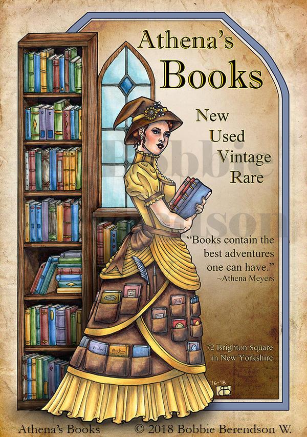 Athenas Books by BobbieBerendson