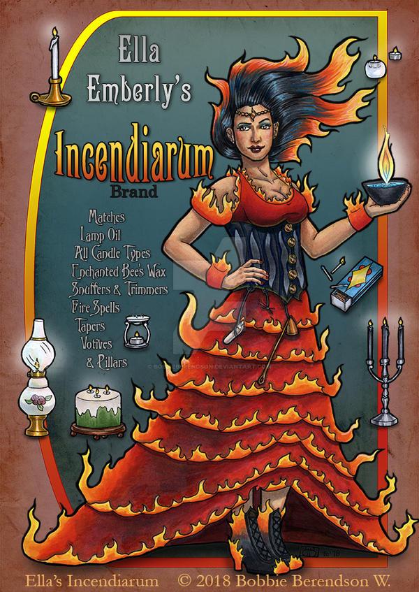 Ellas Incendiarum by BobbieBerendson