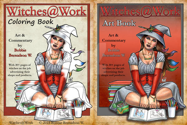 Witches at Work by BobbieBerendson