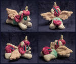 Tiny lying plushie Flurry Heart 5 inches