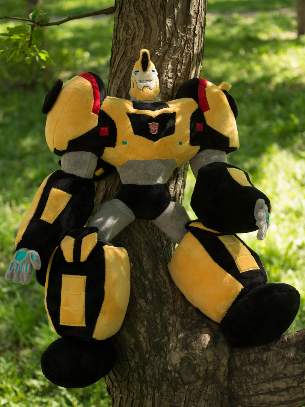 Transformer Bumblebee Plush Toy 25 inches by Valmiiki on