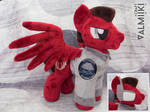 Plush Mach from the Fallout Equestria: Outlaw