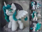 Plush pony OC Millitry 10 inches