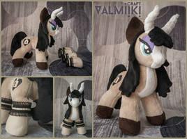 Pony OC Faya 10 inches by Valmiiki
