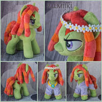 Tree Hugger in the dress and wreath by Valmiiki