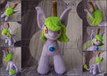 Plant fairy pony plushie 10 inches