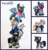 Derpest mascots by Valmiiki