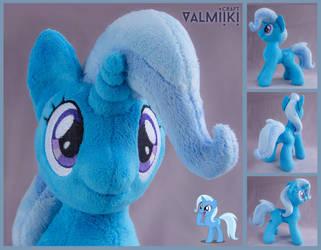 Trixie plushie by Valmiiki