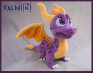 Spyro the Dragon plush by Valmiiki