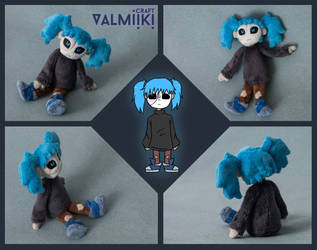 Sally Fisher plush doll by Valmiiki