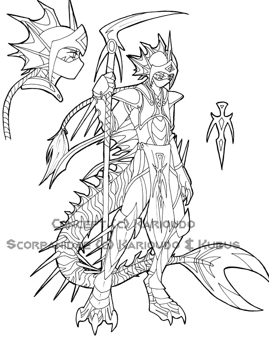 Scorpanidae Guard Concept by Razor-Spine