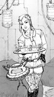Waitress by X-AEL