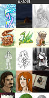 Daily doodles 2013-4