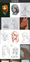 Daily doodles 2013-7
