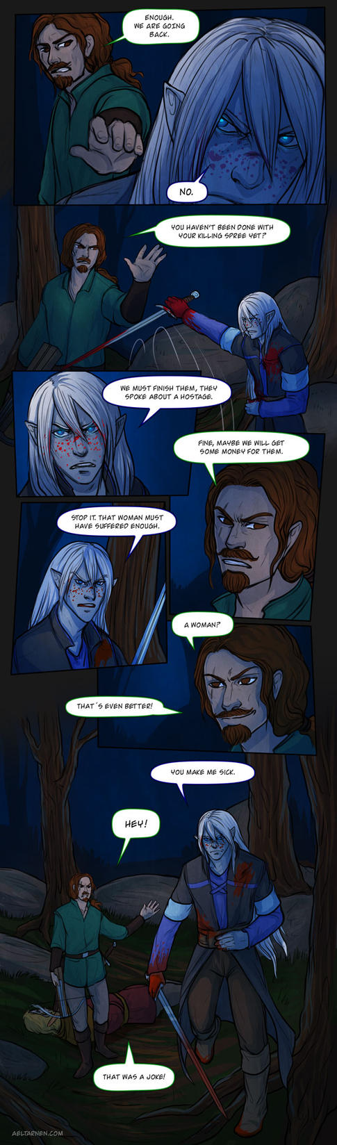 Bandits: page 21 by Lysandr-a