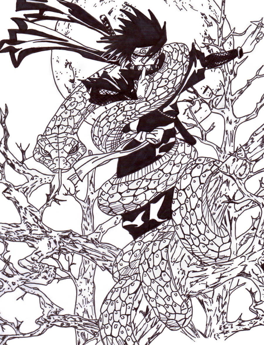naruto coloring page 2 by frecklesmile on deviantart