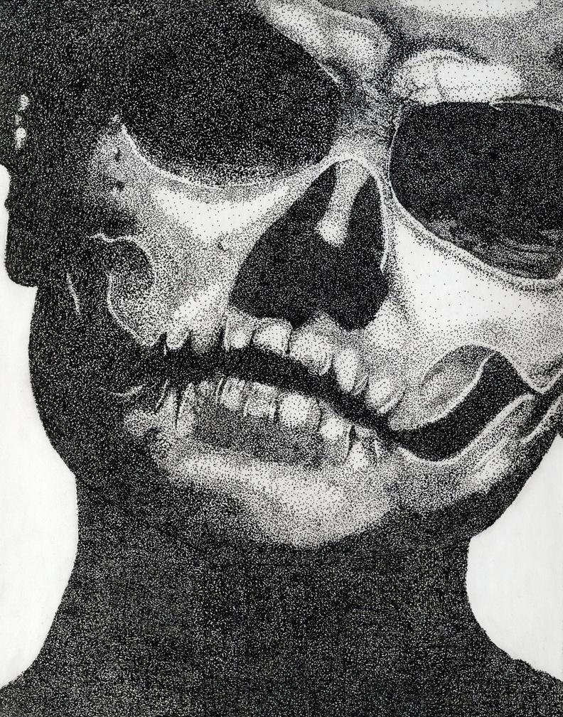 Skull-Face by frecklesmile