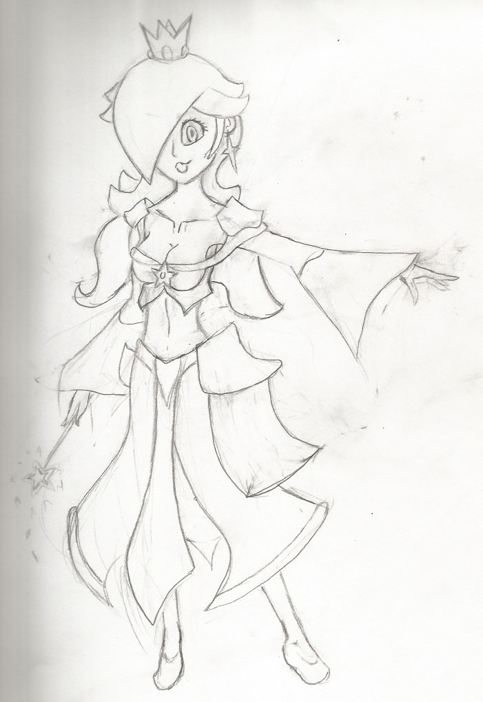 Knight Outfit Rosalina by PrinceRozetta63