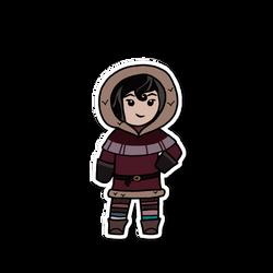 Chibi Cassandra (Winter)
