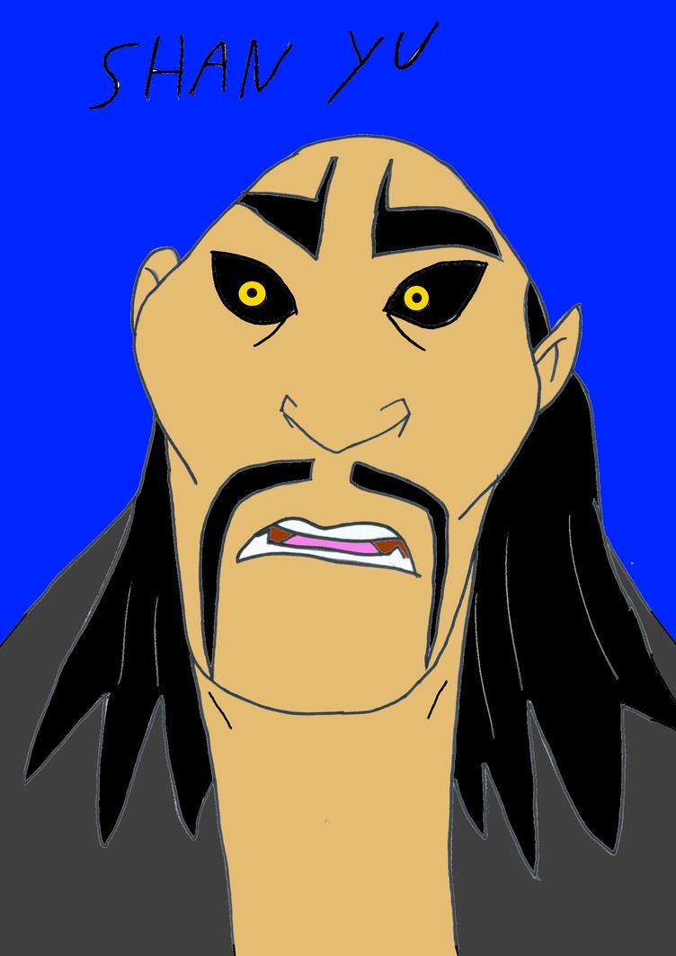 Shan Yu ( Mulan ) by valentinfrench