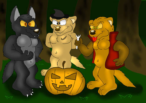 Special Halloween 1: the ferrets and the werewolf