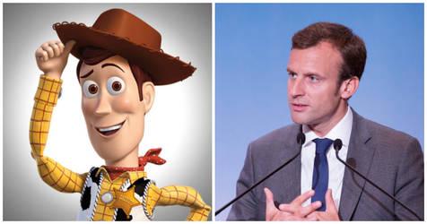 macron = Woody lol
