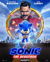 New poster sonic the hedgehog live-action
